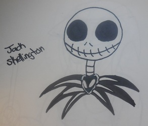 INKtober Day 5 Jack Skellington