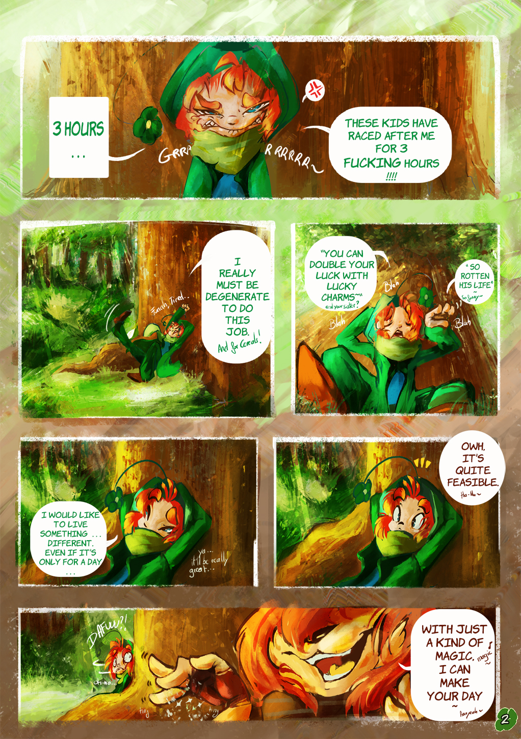 Lucky and Chocolate Charms - Page 2