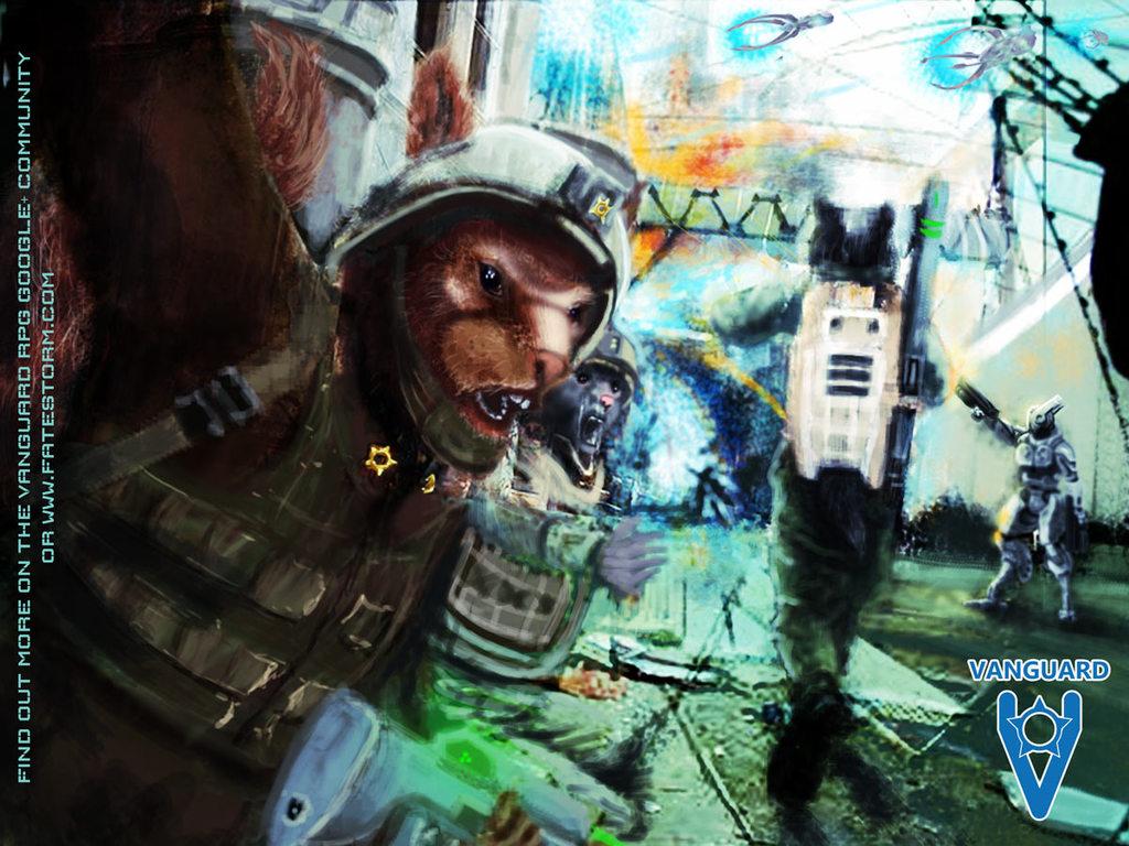 VANGUARD Varmisk City counter attack
