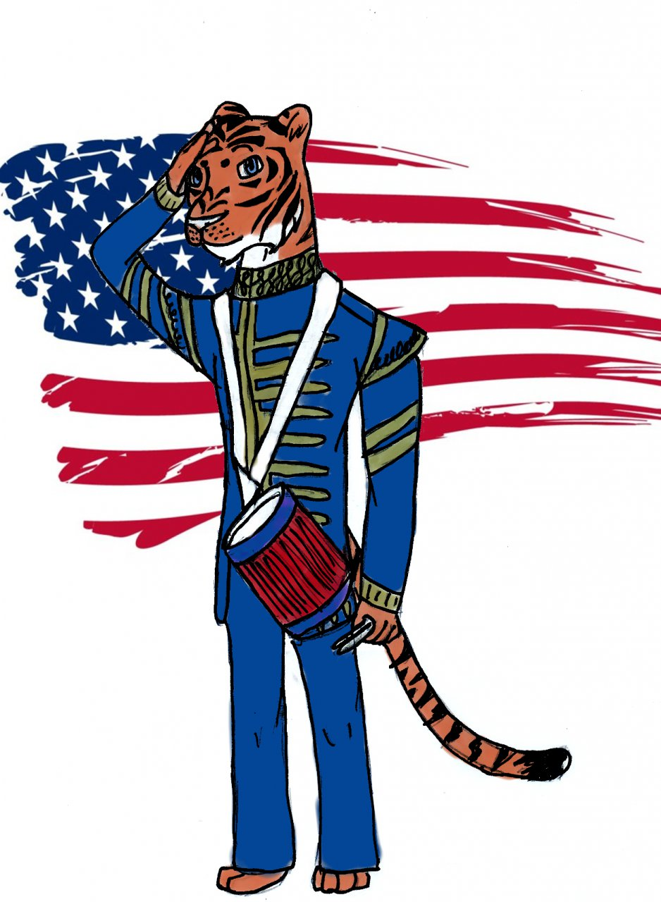 Tom the Patriotic Tiger: A True Patriot