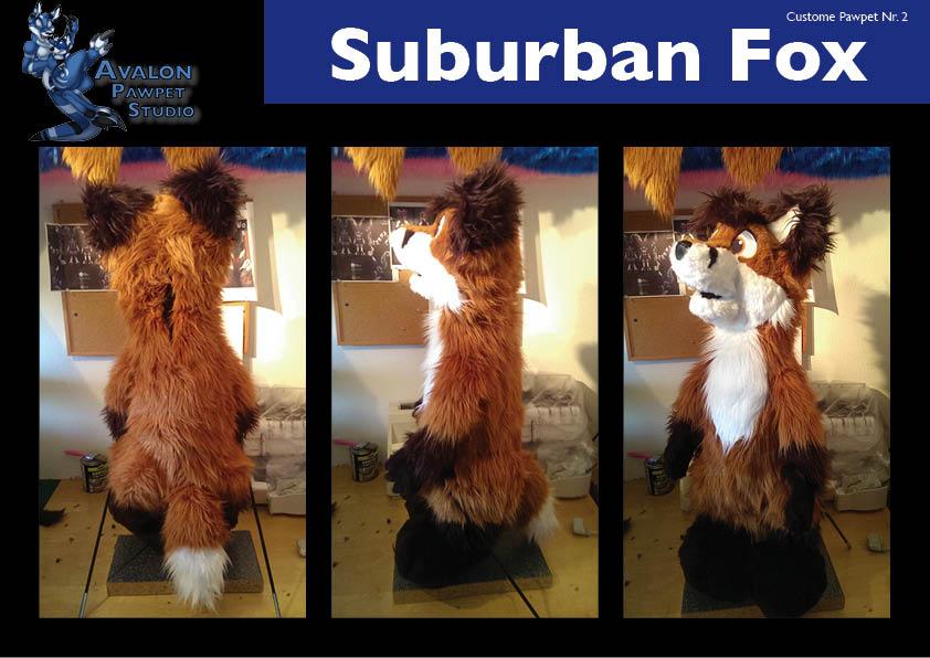 SuburbanFox pawpet 2015