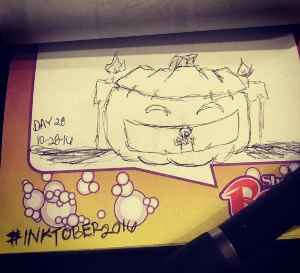 Project: Inktober 2016 -day 28-