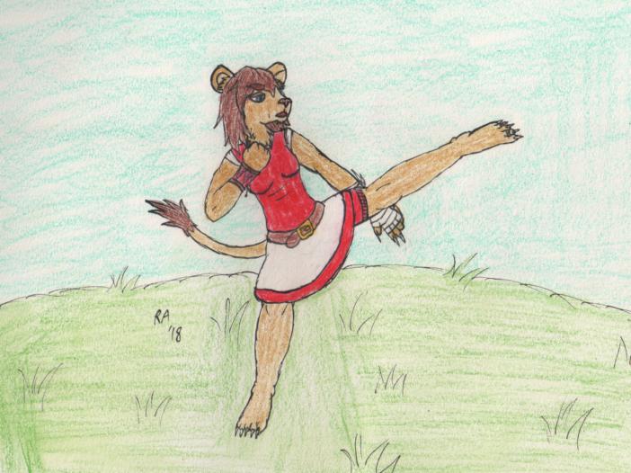 One Kick Lioness