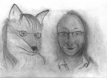 B-Day Portrait Sketch 1