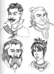 DA doodles