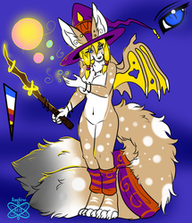 Witch Kitsune +Character design 4+ SOLDDD