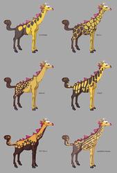 Girafarig Variations