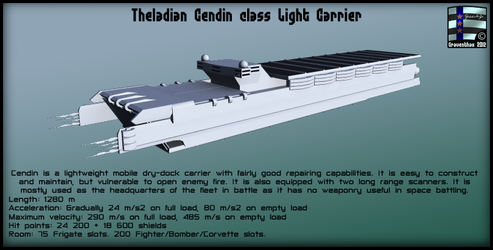 Cendin Carrier