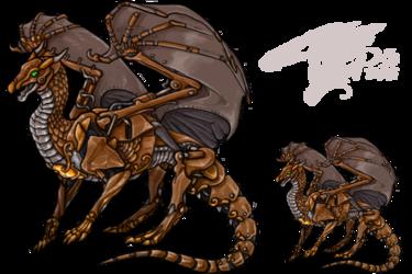 Overlay -- Mech Dragon