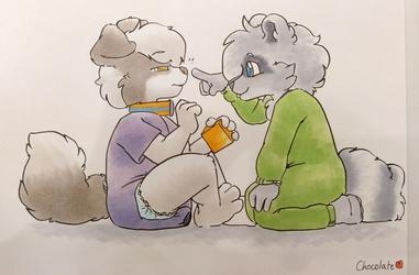[C] Piter Playful Nosepoke