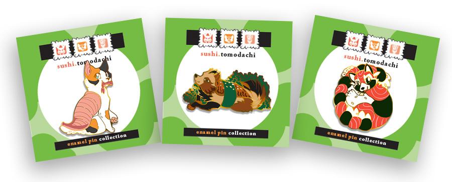 Sushi Tomodachi: New Designs!