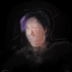 Self Portrait in the Dark