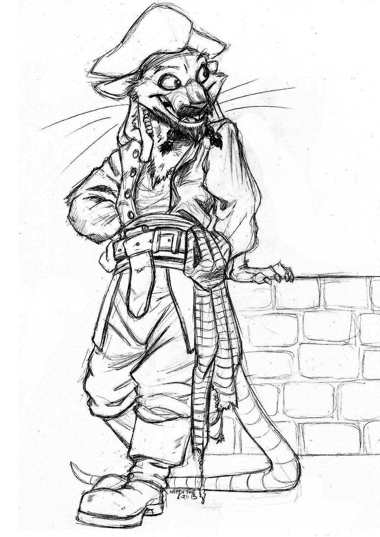Pi-Rats of the Caribbean- Jack Sparrow