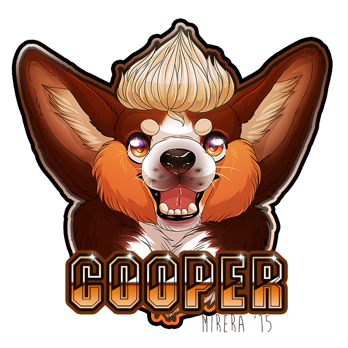5/04 Drawing a day Special] Cooper!