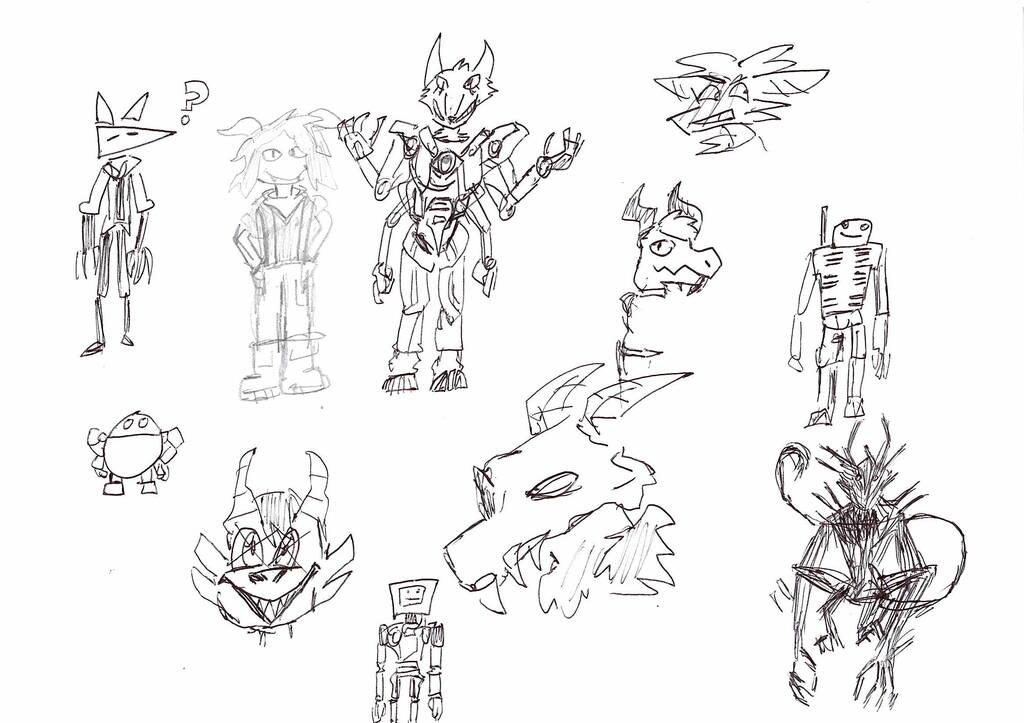 Bad Pen Sketches!