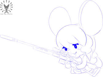 Mouse with a gun