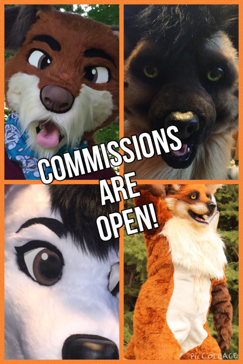 We are OPEN for fursuit commissions!