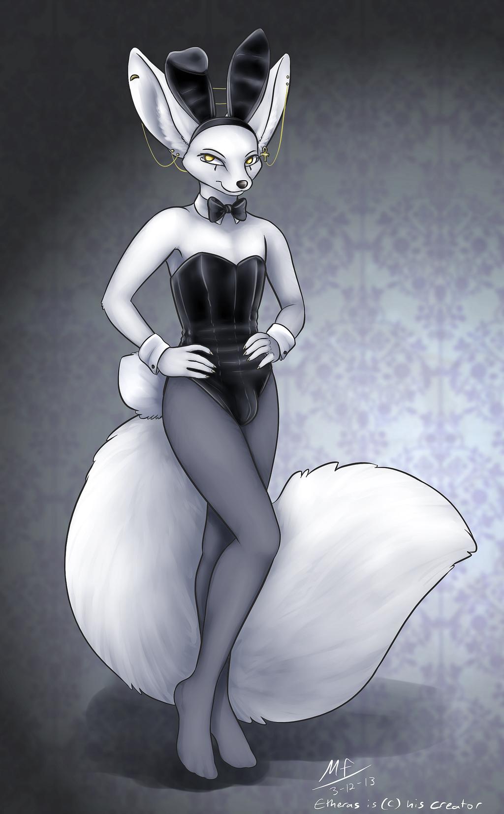 Fox... or Bunny? (by MoodyFerret)