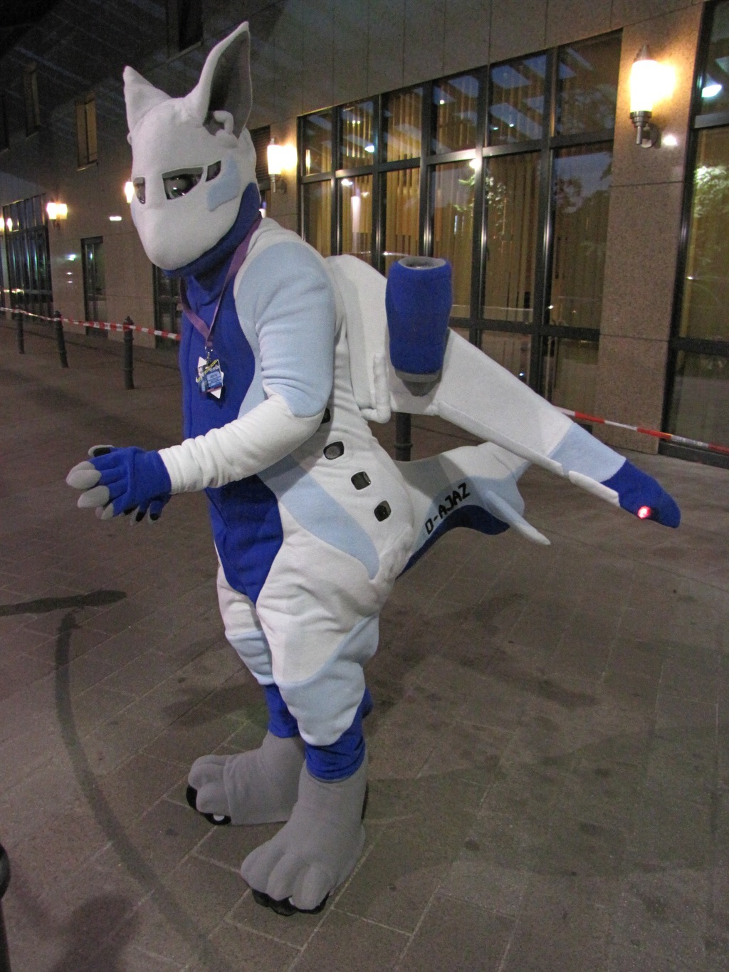 Jazoray Aeromorph Fursuit