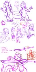 Hroar doodles 1