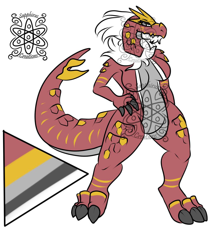 Alpha Female Tyrantrum +Design+ (SOLD)