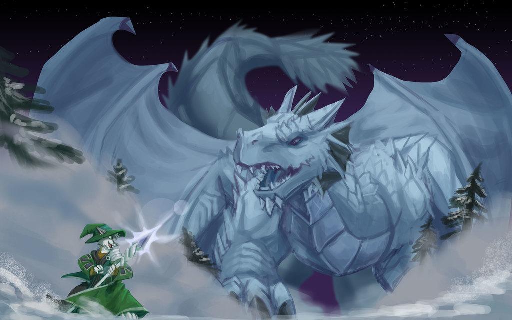 Ice Dragon Summoning