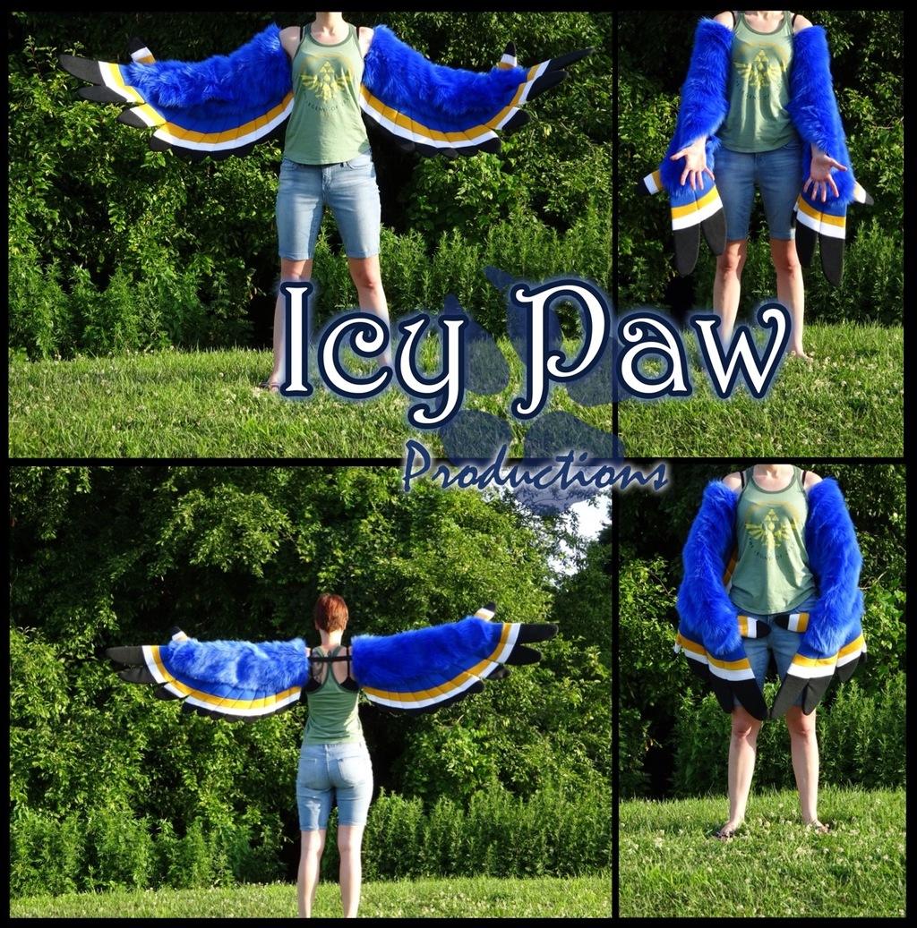 Kass cosplay wings