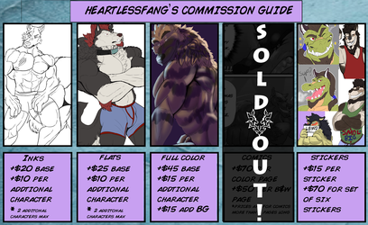 open for summer commissions!