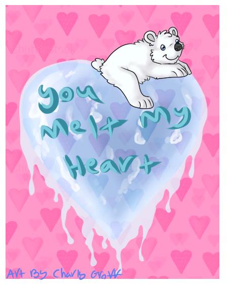 Polar Bear Valentine