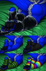 NOT MY ART: Laying Comfy YCH by B4llistikb34n