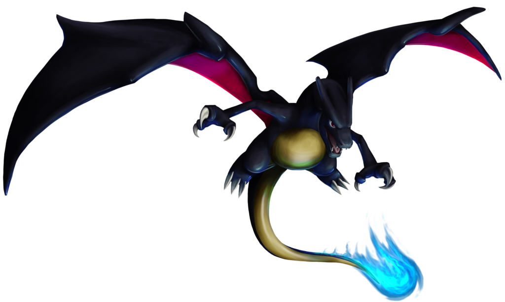 Blue Shiny charizard because it's cool