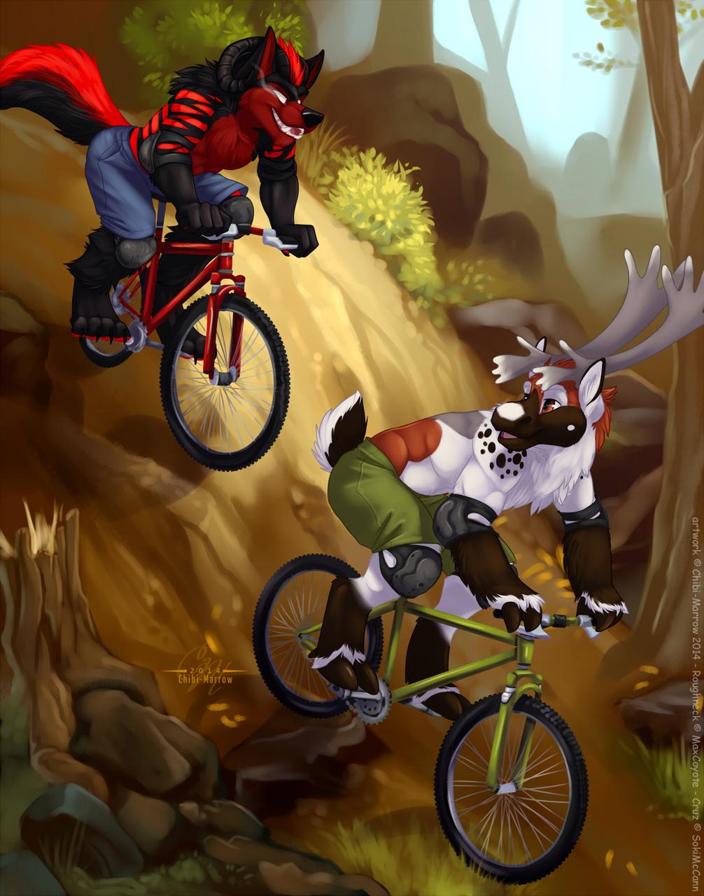 [COM] Downhill Demon (by Chibi-Marrow)