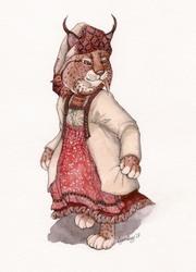Izhorian costume