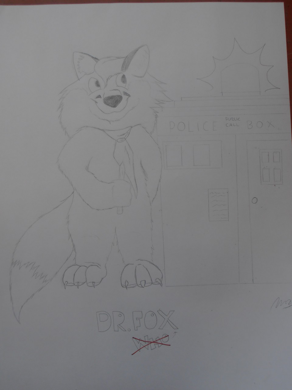 Dr. Who... eeerrrr.... fox?!?!