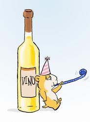 new year cartoon