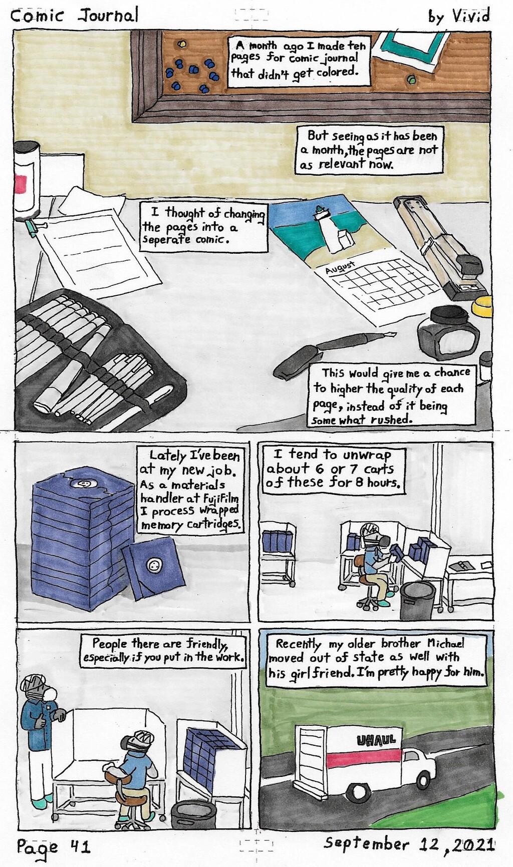 Comic Journal 41