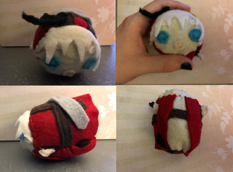 Devil May Cry 3 Dante Sparda Stacking Plush made for myself