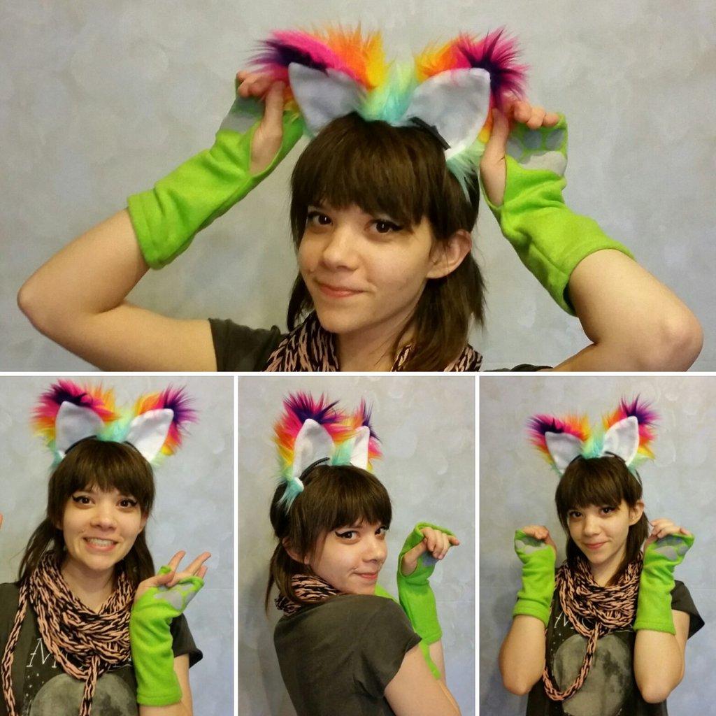 Sherbet Rainbow Ears