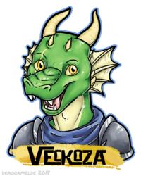 Veckoza Badge