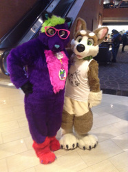 Haylee and Sock at ANE 2016