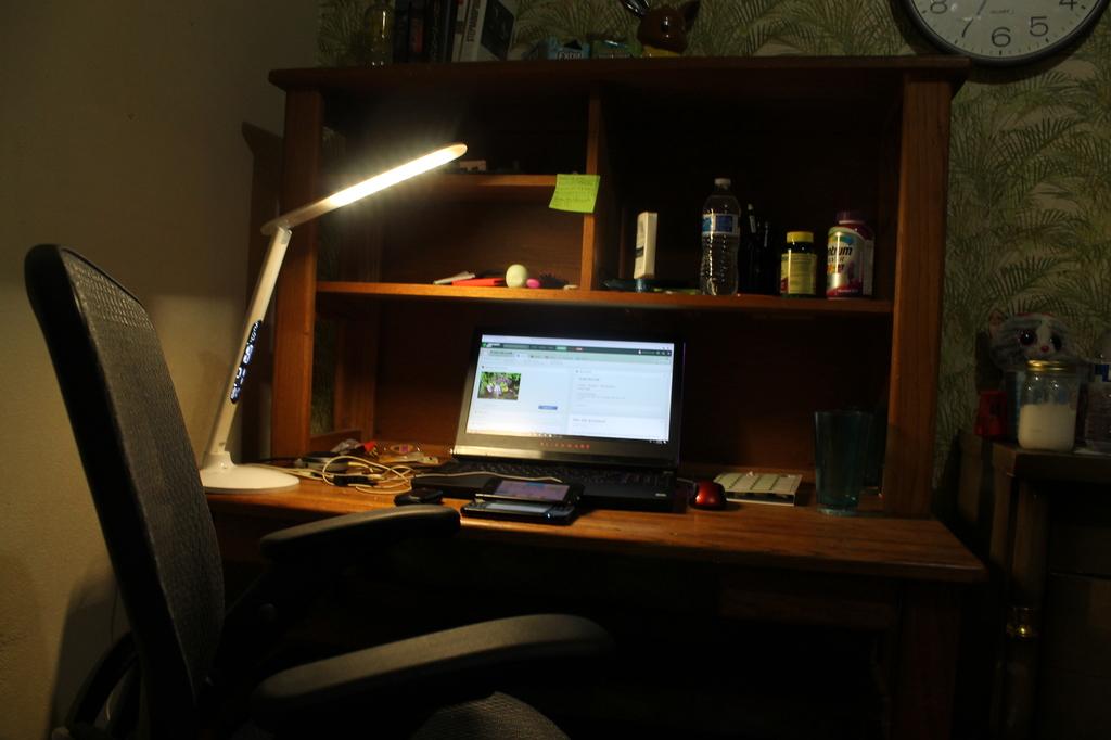 Most recent image: Workspace