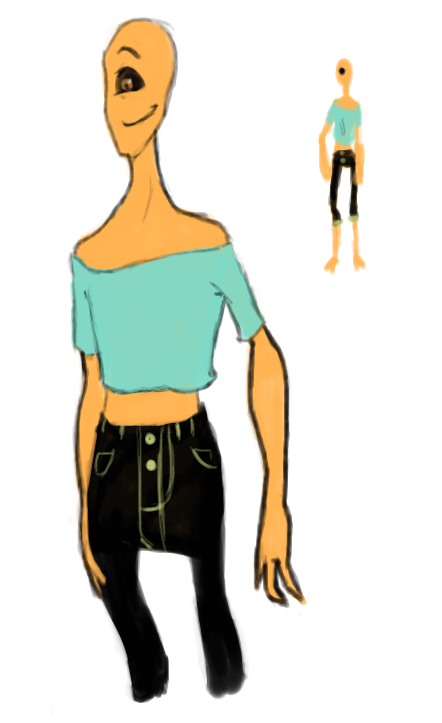 Fashionable cyclops