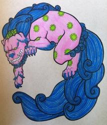 Foo Dog - Tattoo
