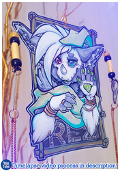 Patreon Reward: Boho Badge - Rez!