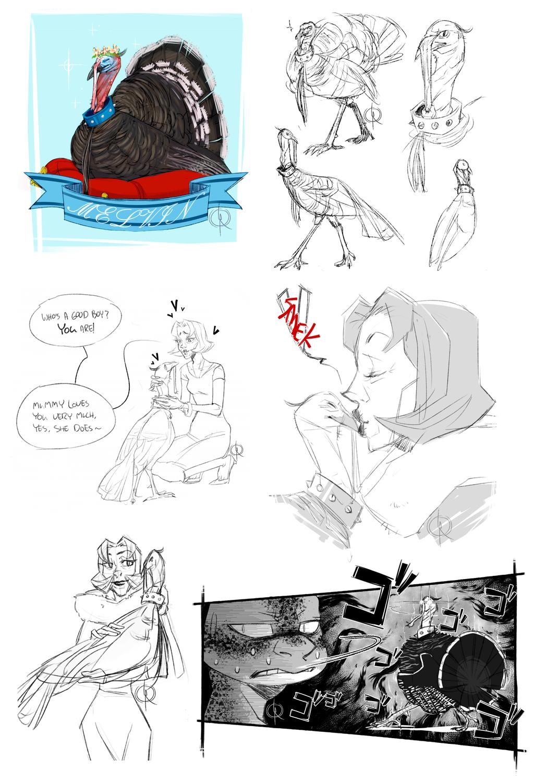 Sketch Dump #12