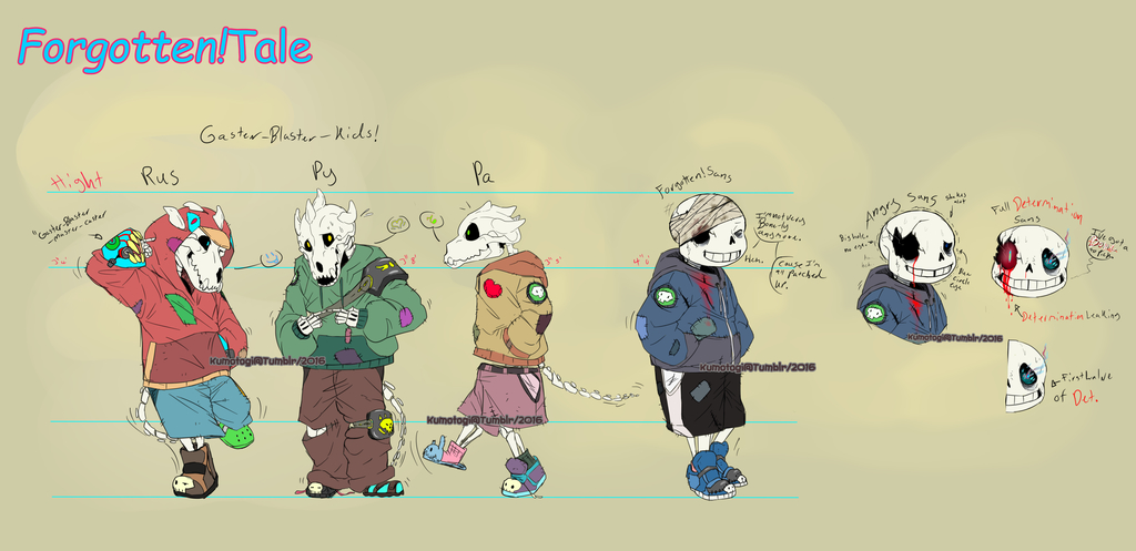 Forget Me Nots (Undertale AU) (UPDATED!7/6/16)