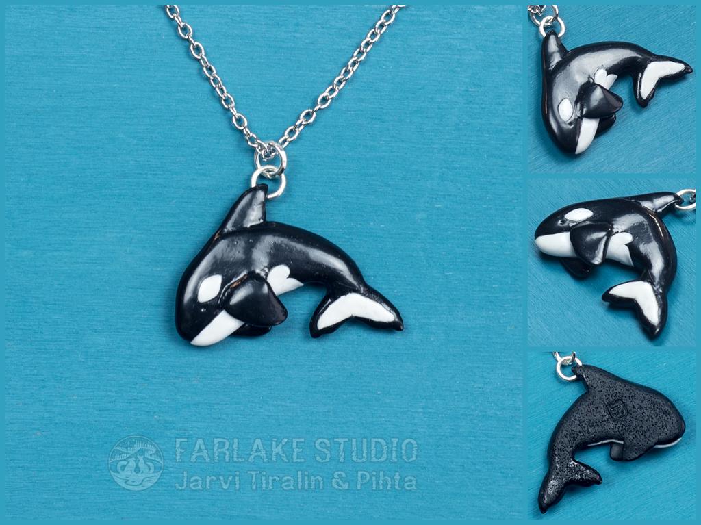 Orca pendant for morteraphan