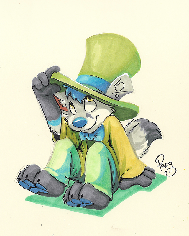 Most recent image: Freezy Mad Hatter