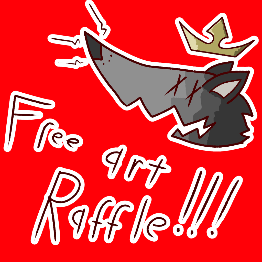 Most recent image: Art raffle time!