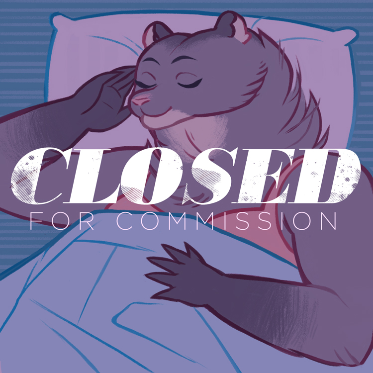 Featured image: Closed for commission